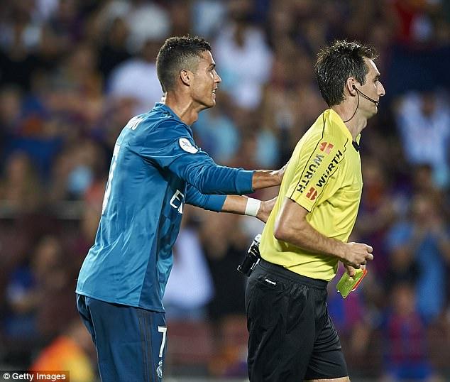 Super Cup Drama: Cristiano Ronaldo Gets Five-match Ban