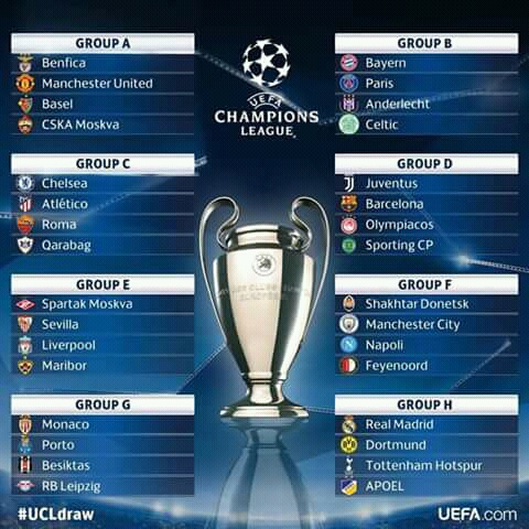 See Champions League round of 16 draw