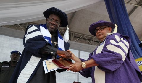 Gov Dickson Bags Honorary Doctorate Degree From CRUTECH