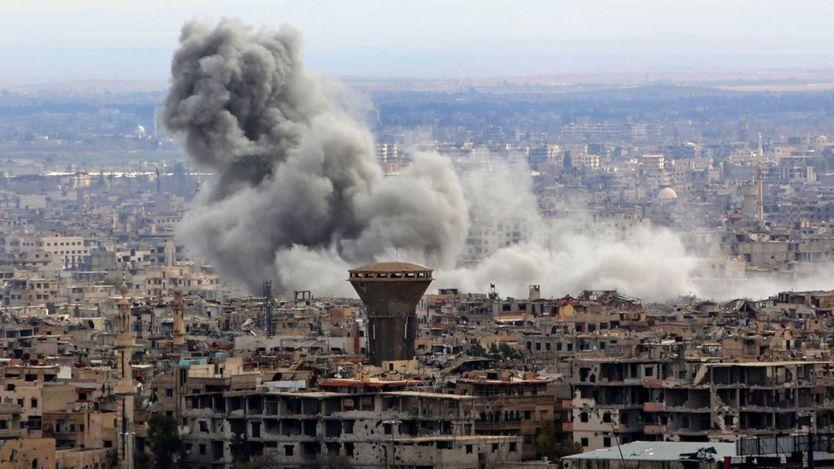 Syria war: Shelling, Strikes Despite Eastern Ghouta 'pause'