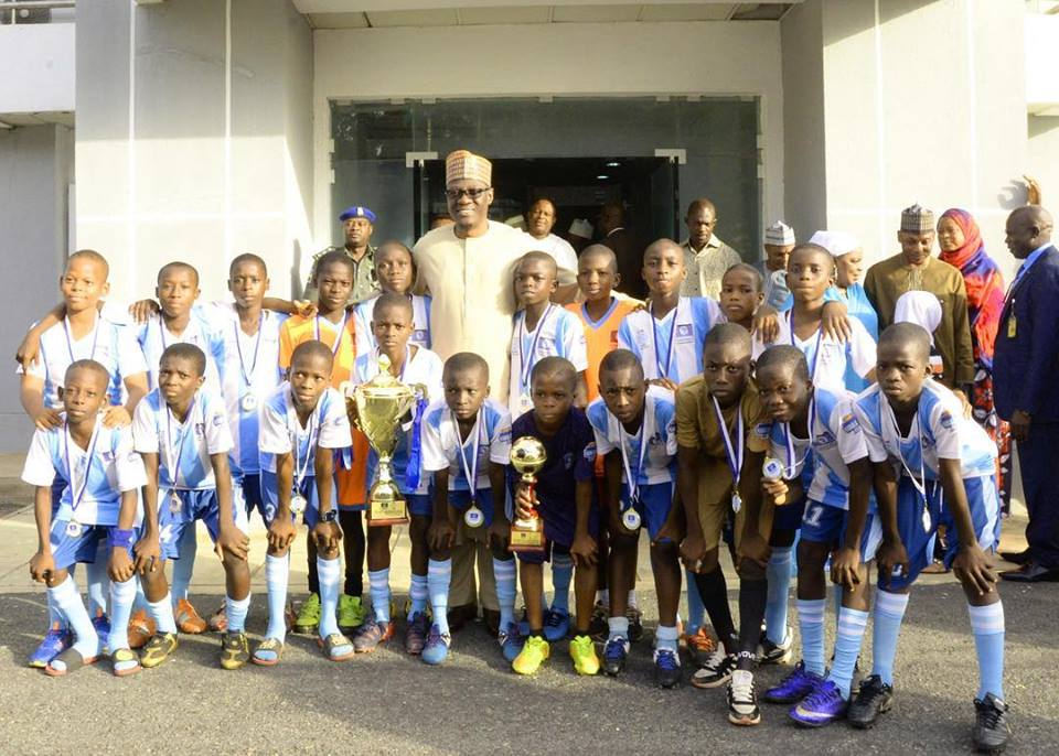 "Channels Kids Cup: ""I am proud of you"" Gov. Ahmed to Victorious Kwara Team"