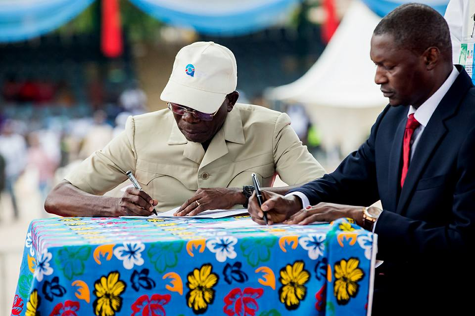 I can't mortgage my conscience for my job —Oshiomhole