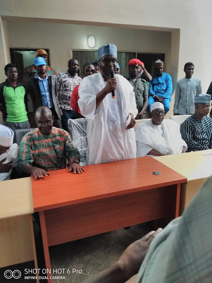Kwara APC Guber Candidate Visits Mashood Mustapha Supporters In Ilorin
