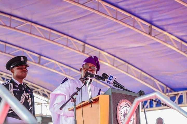 Gboyega Oyetola Resumes Duty As Osun State Governor