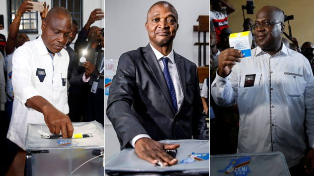 Meet Three Major Contenders in Congo Presidential Election