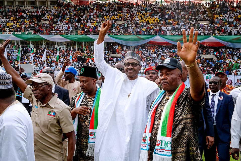 Nigerians Will Not Regret Voting For APC Candidates in 2019-Buhari