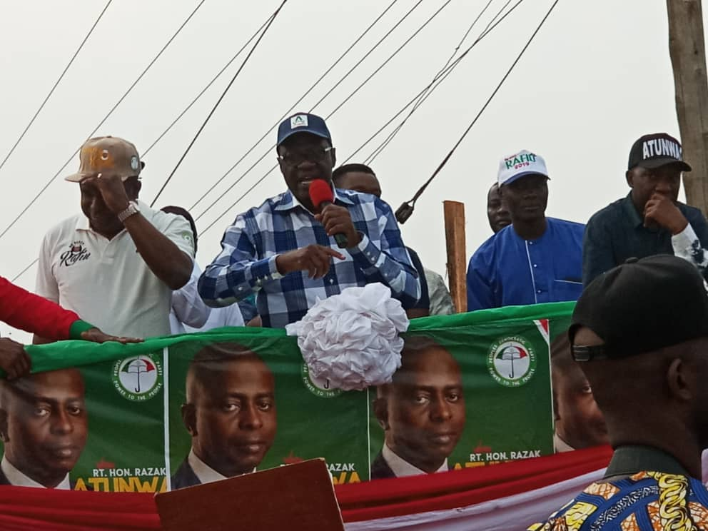 Gov Ahmed Leads PDP Campaign To Irepodun/Isin/Ekiti/Oke-ero Federal Constituency (Pictures)