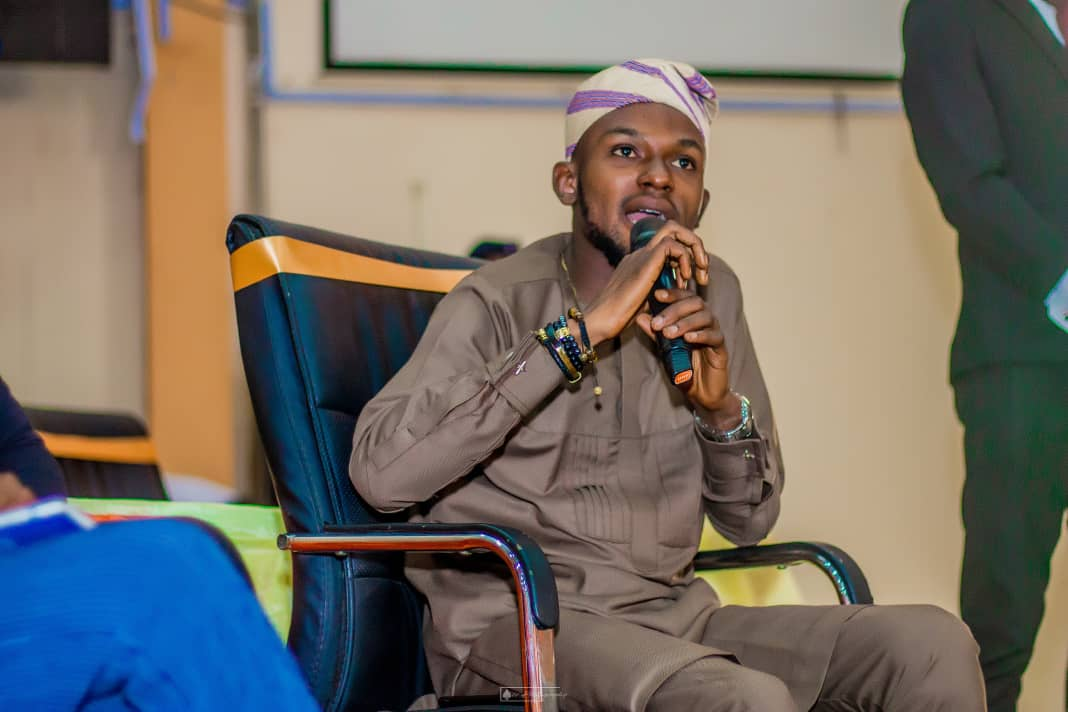 Seun Awogbenle, the Change maker, amplifying the voice of Nigeria's young population