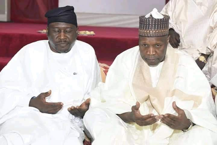 Gombe Governor Commiserates With Fintiri Over father's Death