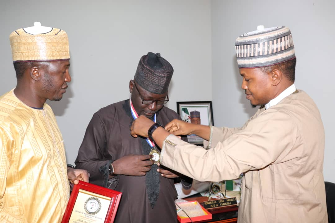 Gombe SSA Media Bags Fellowship of Institute of Motivation and Welfarism in Nigeria