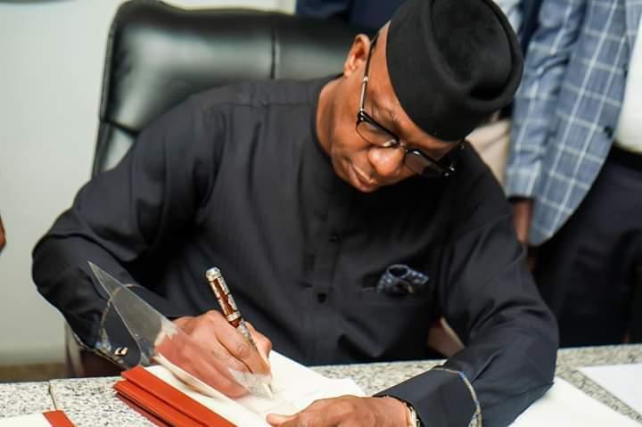 Gov Dapo Abiodun Assents  N449.97bn 2020 Budget, Praises Lawmakers For Their Patriotism