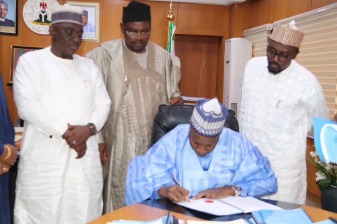 Gombe Governor Signs Three Bills Into Law