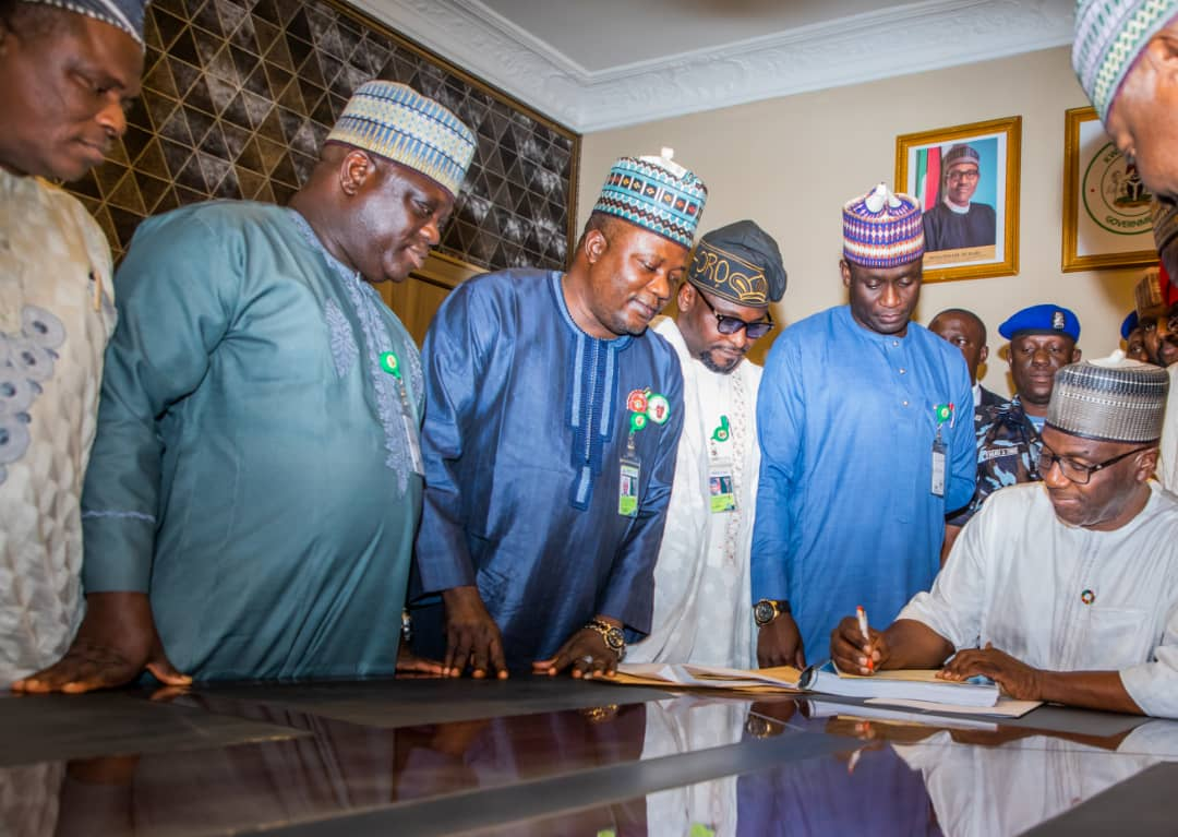Governor Abdulrazaq Signs 2020 Budget, Says  Poorest of The Poor Will Benefit