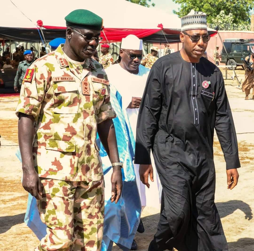 Zulum Suggests 'New Tactic' To End Insurgency