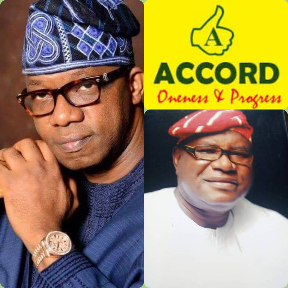 Accord Party commends Dapo Abiodun, Urges Public To Comply with Stay at home Order