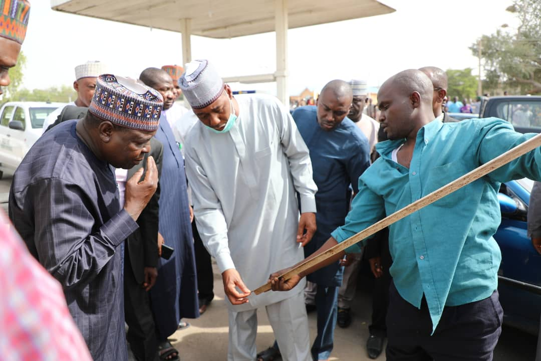 Fuel hoarding: Zulum Storms Stations, Asks DPR To Sanction Offenders