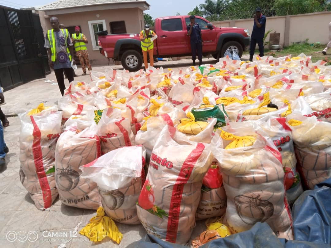 COVID-19: Constituents Praise Oloriegbe For Distributing Relief Items