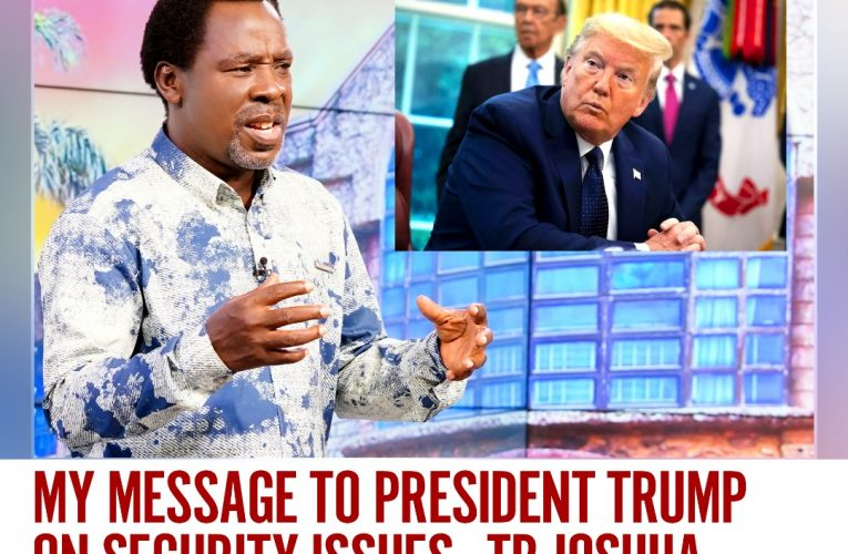 Video of Prophet TB Joshua's Prophecy On Ongoing Security Challenge In US
