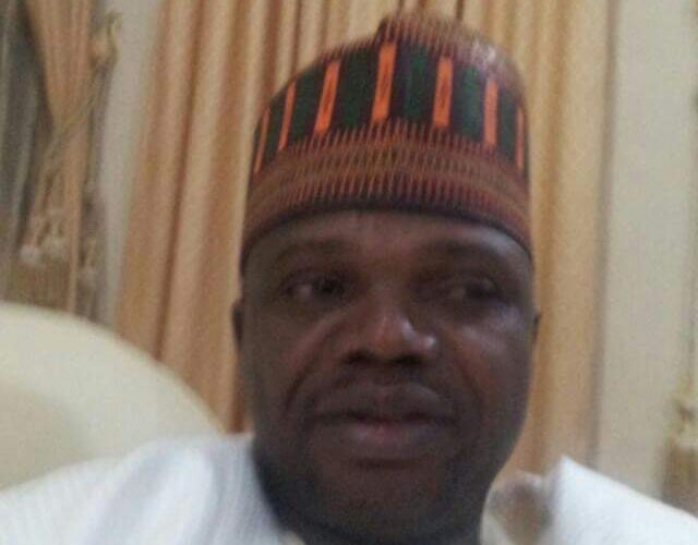 Governor Inuwa Yahaya Mourns Gombe Government House Staff, Shuaibu Danlami