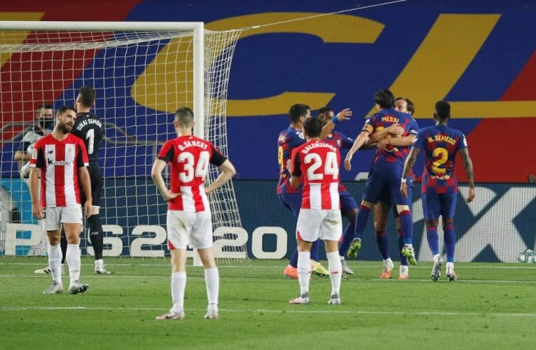 Ivan Puts Barcelona Back on Top, Defeats Athletic Bilbao