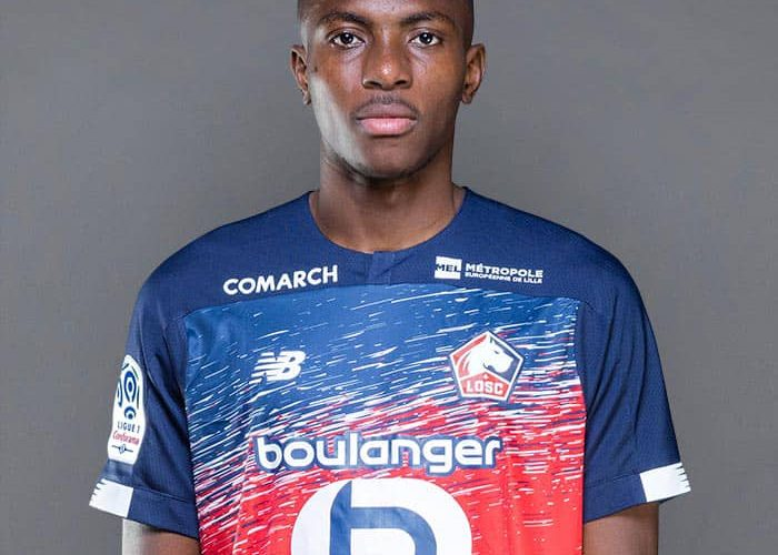 Nigerian Born Lille Forward, Osimhen Arrives Italy Ahead of Napoli Transfer