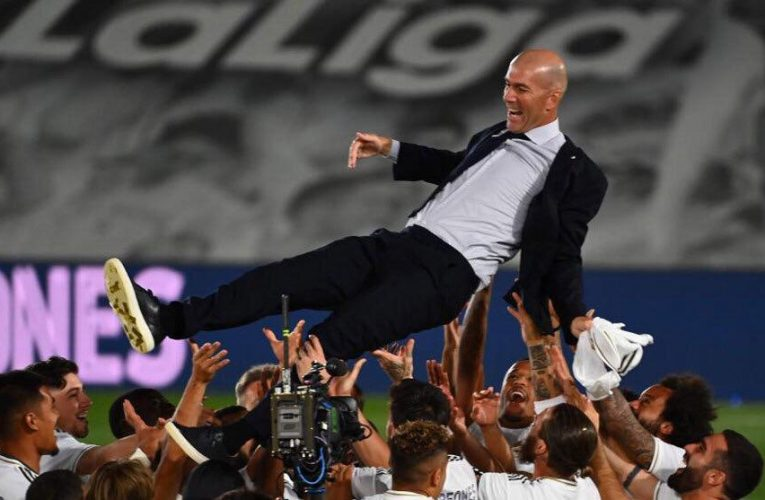 Celebrating Infront of Empty Stadium Was Strange- Zidane