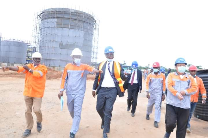 Edo Assembly Members Tour Modular Refinery