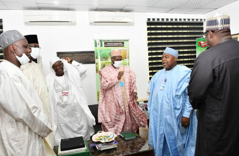 Gombe Governor Meets Agriculture Minister