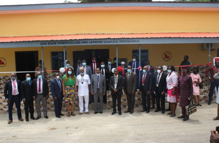 Makinde Commissions TB / Leprosy Control Programme Office