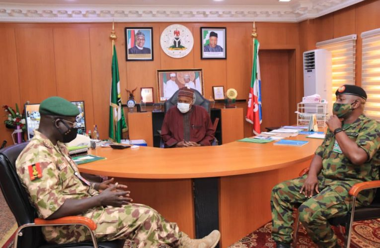 Gombe Governor Receives Chief of Army Staff