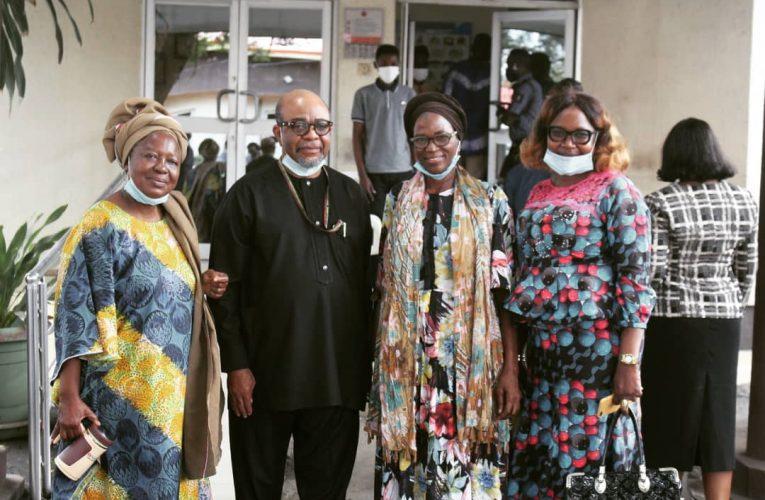 Ladies Wing of Yoruba Tennis Club Donates Palliatives To LASUTH