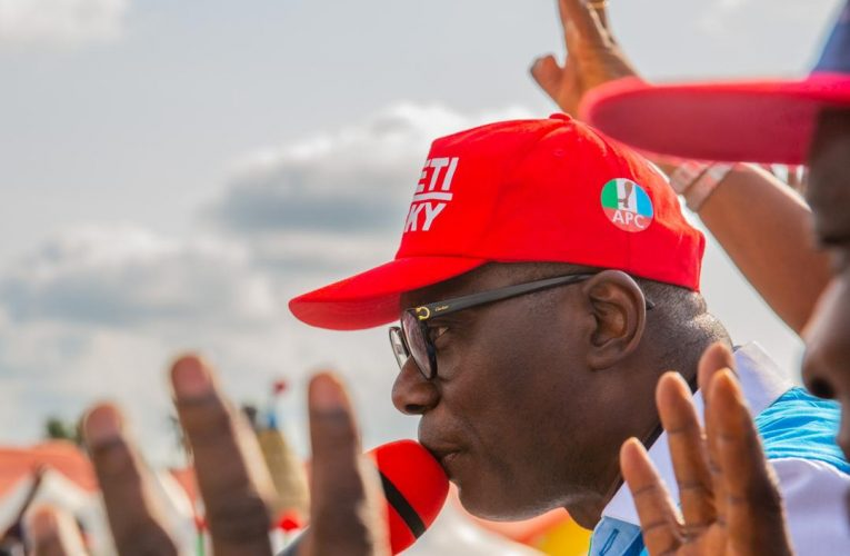 Ondo 2020: Sanwo-olu Campaign For APC In Okitipupa