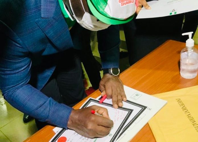 Obaseki Receives Certificate of Return