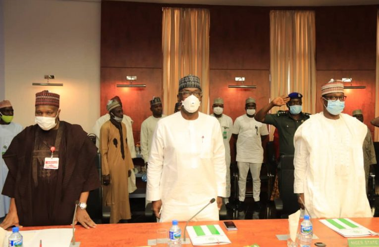 Governor Inuwa Yahaya, other northern Governors meet in Kaduna