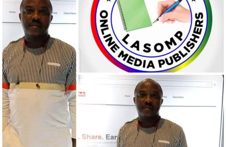 LASOMP Hails Sahara Weekly Publisher Election As NAOSRE President