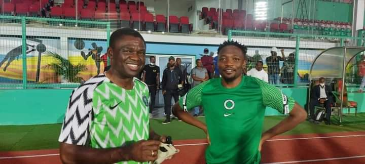 Shaibu joins Super Eagles Training In Benin Ahead AFCON qualifier