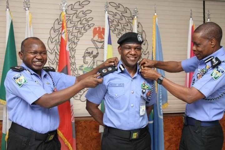 IGP Decorates Frank Uba As Commissioner of Police