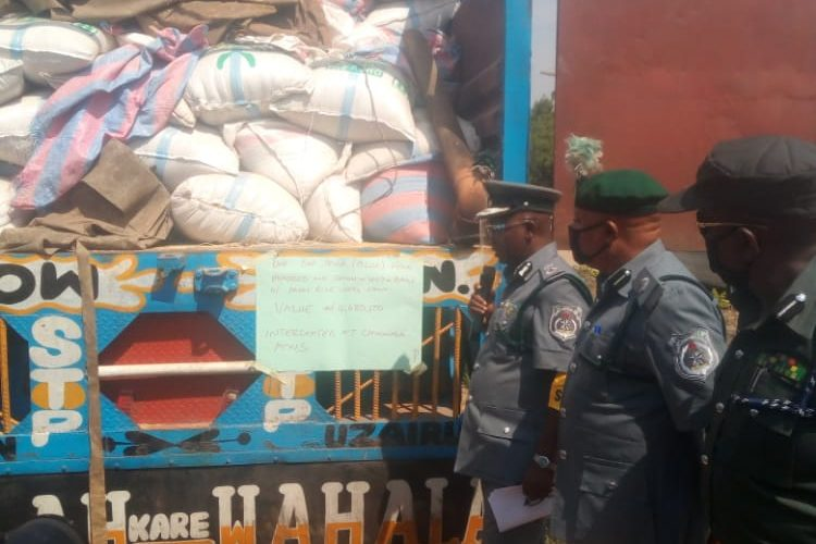 Joint Border Operation Drill Seizes 1,677 Bags of Unprocessed Rice in Kwara