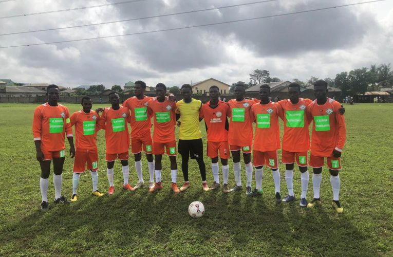 Ramond FC Battles Ex Super Eagles, Haruna Lukman's Led All Star Team In Football Cracker