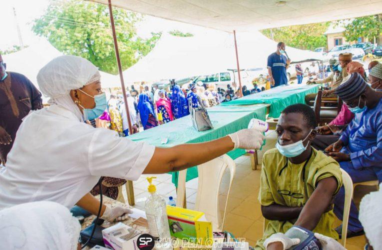 Medical Outreach: Beneficiaries Hail Senator Oloriegbe
