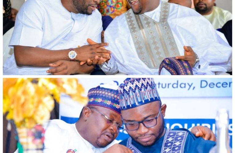 Ohere Celebrates Yahaya Bello's Chief of Staff on Birthday, Says Asuku Is a Shining Star