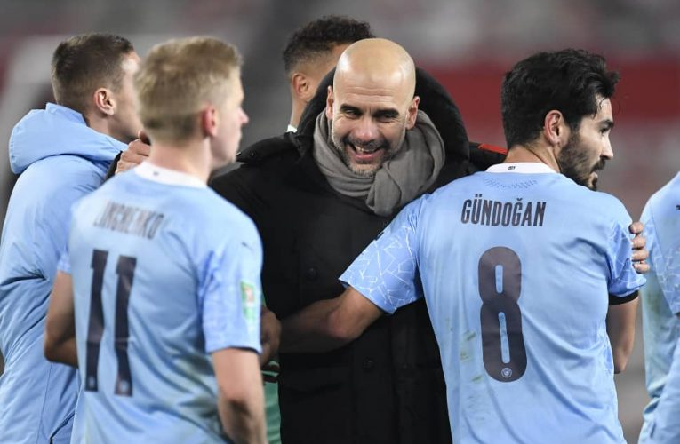 Manchester City Beats United To Reach League Cup final
