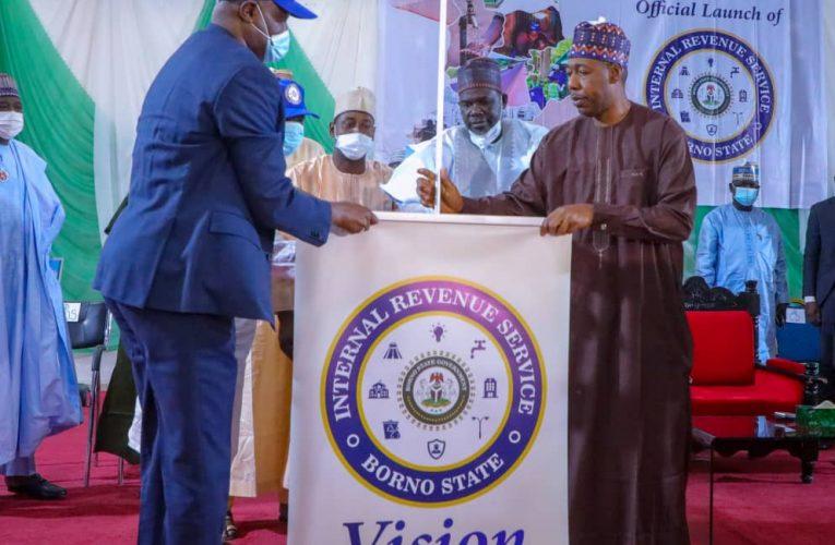 Zulum Unveils New Corporate Identity of Borno's Internal Revenue Service