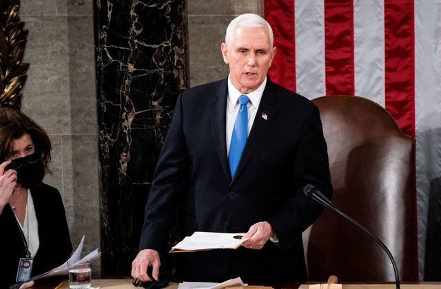 2020 US Election: Pence Condemns Congress Invasion, Biden's Victory Certification Ongoing