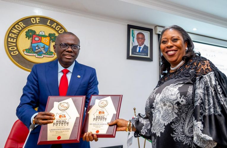Lagos Bags Award As Number 1 State in Housing Development